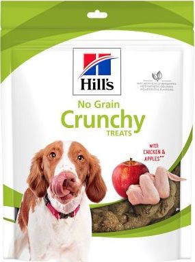 Hills No Grain Crunchy Snacks Chicken Apple - 12 x 227 g