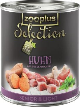 zooplus Selection Senior Light kuřecí - 6 x 400 g