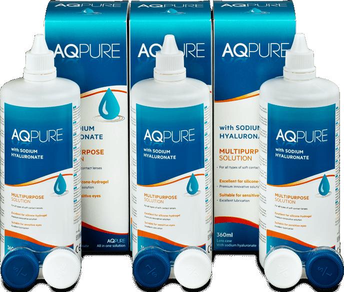 Roztok AQ Pure 3 x 360 ml