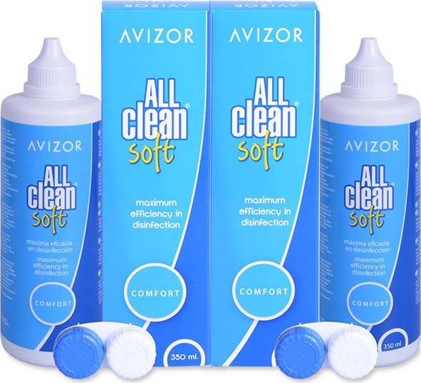 Avizor Roztok All Clean Soft 2x350 ml