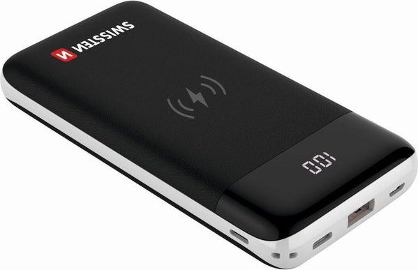SWISSTEN All-In-One powerbanka 10000 mAh černá