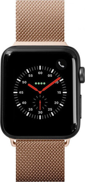 LAUT Steel Loop pásek na Apple Watch 42/44 mm zlatý