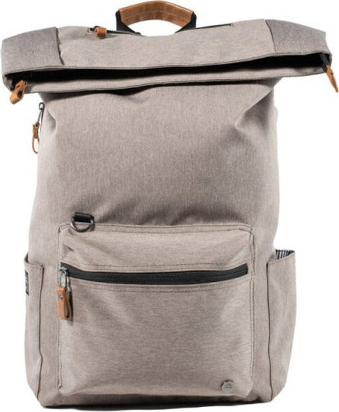"PKG Brighton Laptop Backpack 15"" batoh béžový"