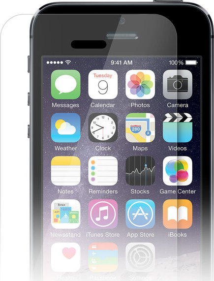 iWant 2D temperované sklo 0,3mm / tvrdost 9H na iPhone 5/5C/5S/SE (2. generace)