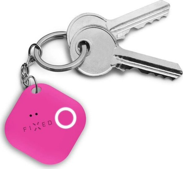 FIXED Smile Key Finder s motion senzorem růžový