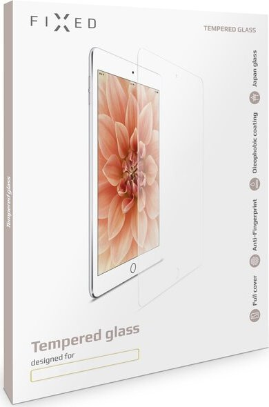FIXED 2D tvrzené sklo 0,33mm Apple iPad Mini 4, iPad Mini (2019) čiré
