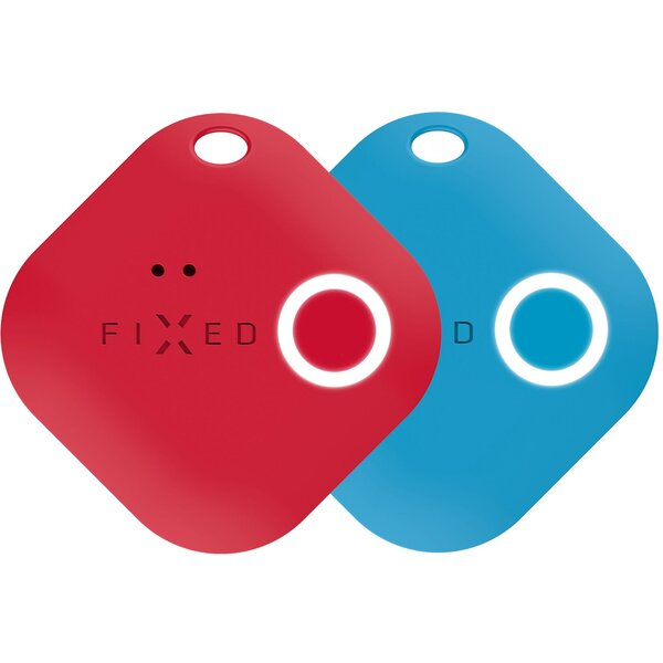 FIXED Smile Key Finder s motion senzorem, DUO PACK, červený modrý
