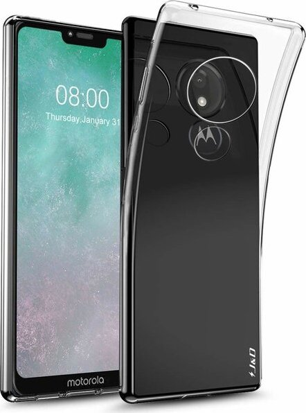 Smarty ultratenké TPU pouzdro 0,3mm Motorola Moto G7 Power čiré
