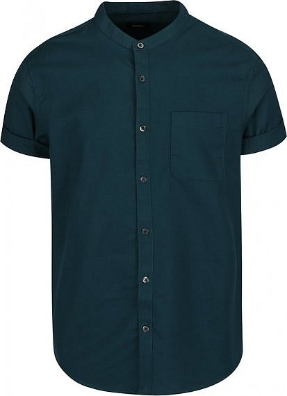 629 Kč · Zelená košile bez límečku ... ea70937773