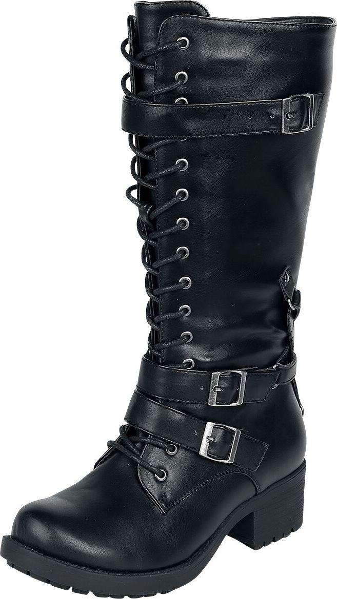 Gothicana by EMP There You Go boty černá