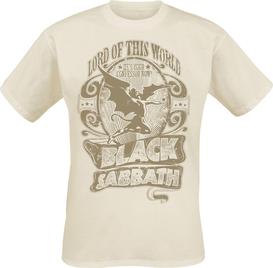 Black Sabbath Lord Of This World tricko přírodní