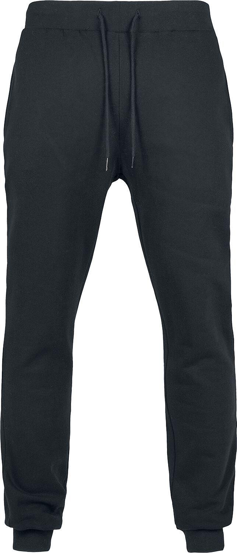 Urban Classics Organic Basic Sweatpants Tepláky černá