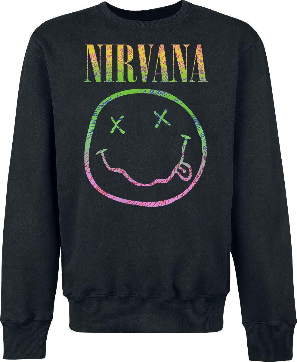 Nirvana Sorbet Ray Mikina černá