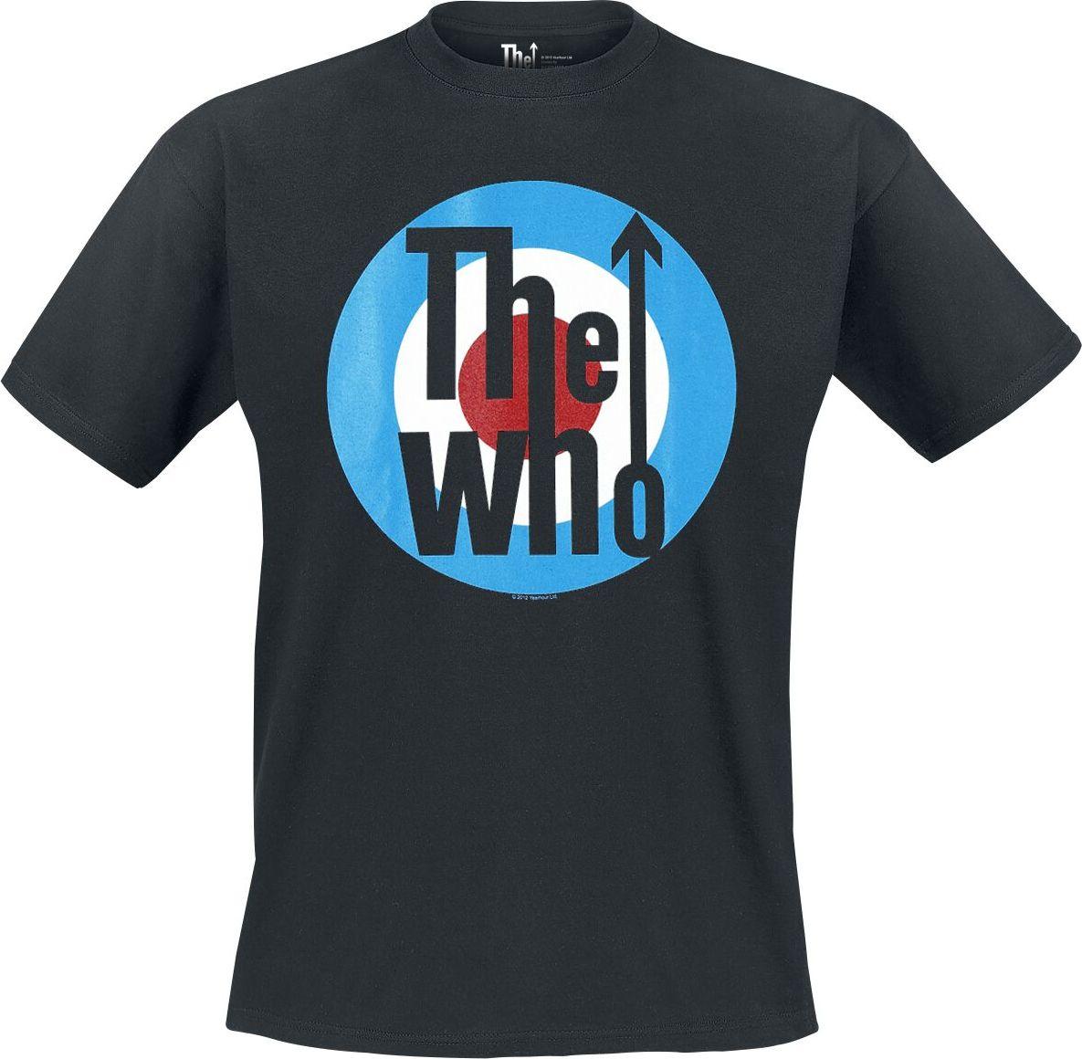 The Who Classic Logo tricko černá