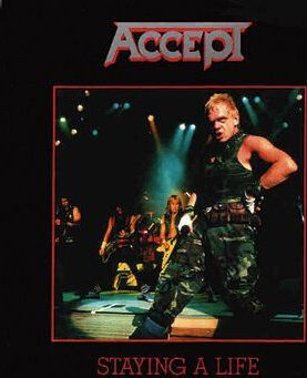 Accept Staying a life 2-CD standard