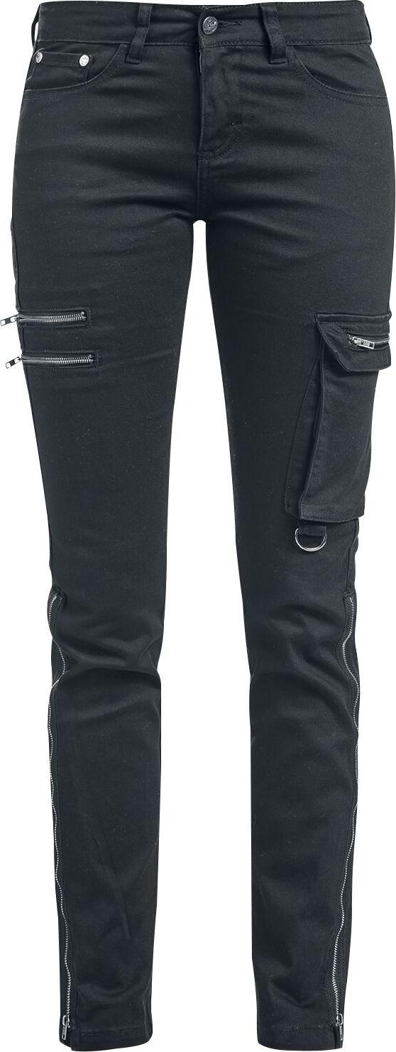 Black Premium by EMP Skarlett - Schwarze Jeans mit zwei Saumvarianten Dámské džíny černá