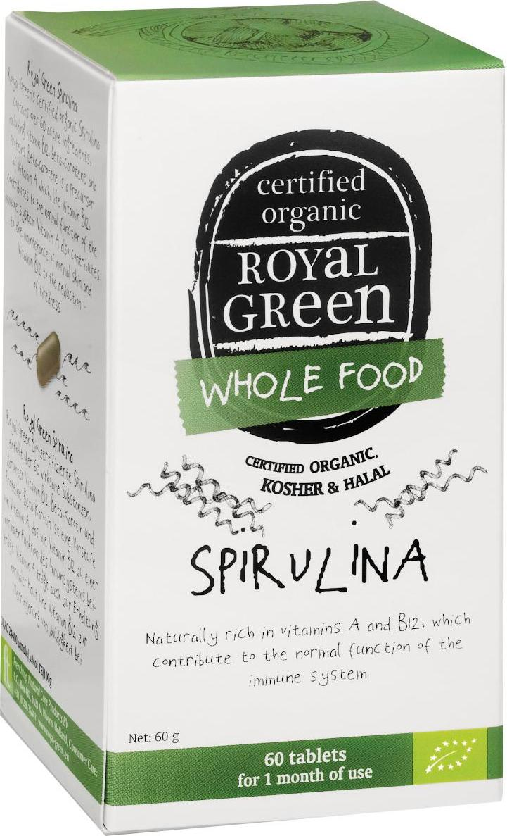 Royal Green Bio Spirulina 60 ks 60 g