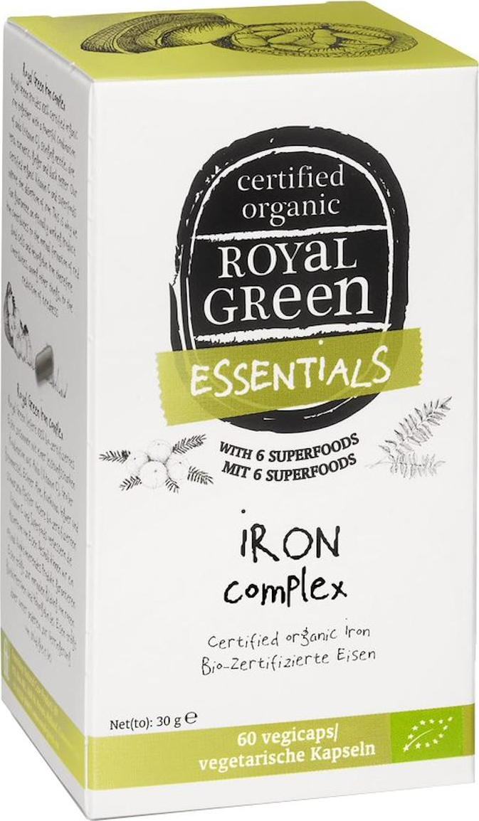 Royal Green Bio Železo komplex kapsle 60 ks 30 g