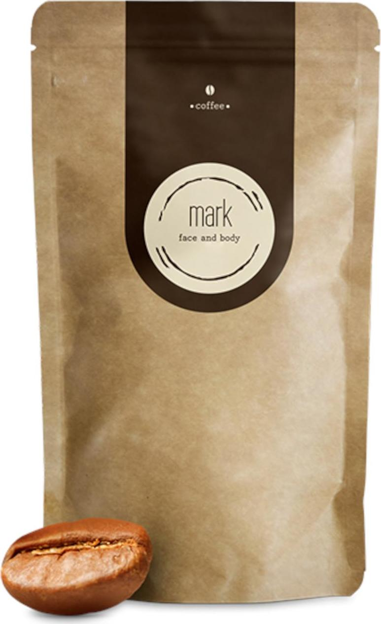 MARK face and body Přírodní kávový peeling MARK Coffee Original 100 g