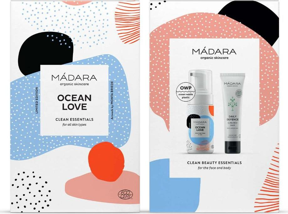 MÁDARA OCEAN LOVE Clean Essentials Set dárkový set 1 ks