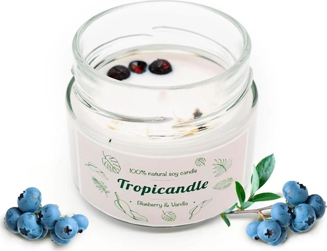 TROPIKALIA Tropicandle blueberry vanilla 150 ml
