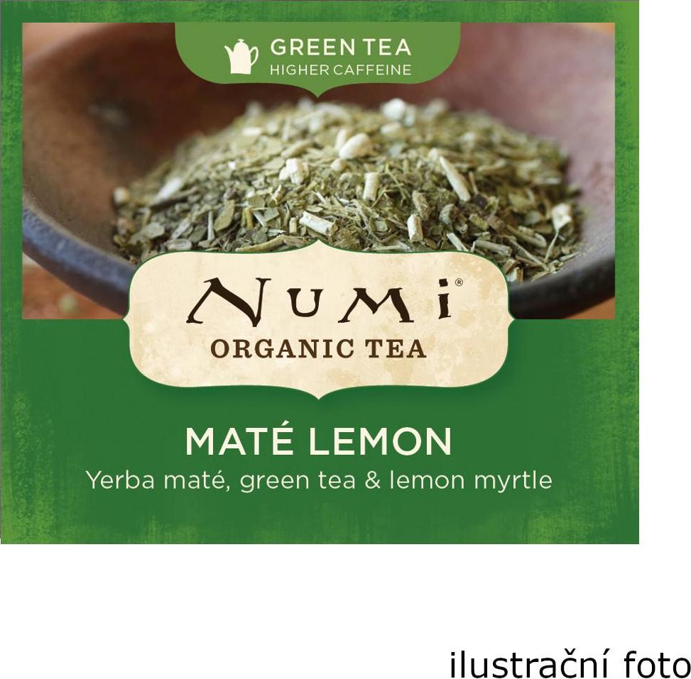 Numi Organic Tea Mate Lemon Green zelený čaj 230 g 100 ks