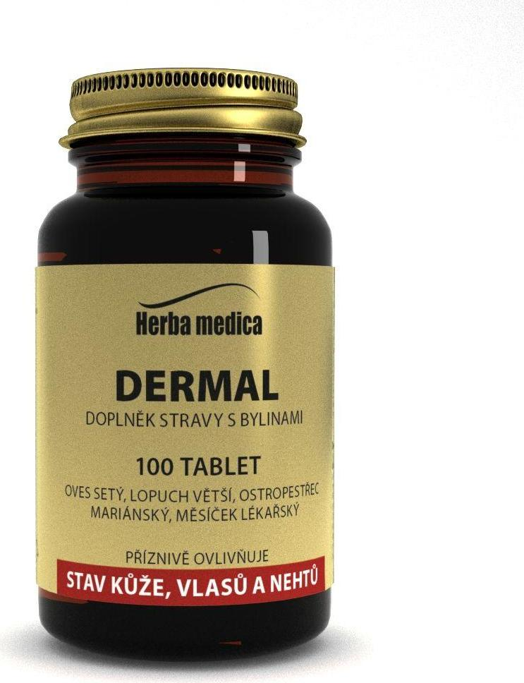 Herba Medica Dermal 50 g100 ks tablet