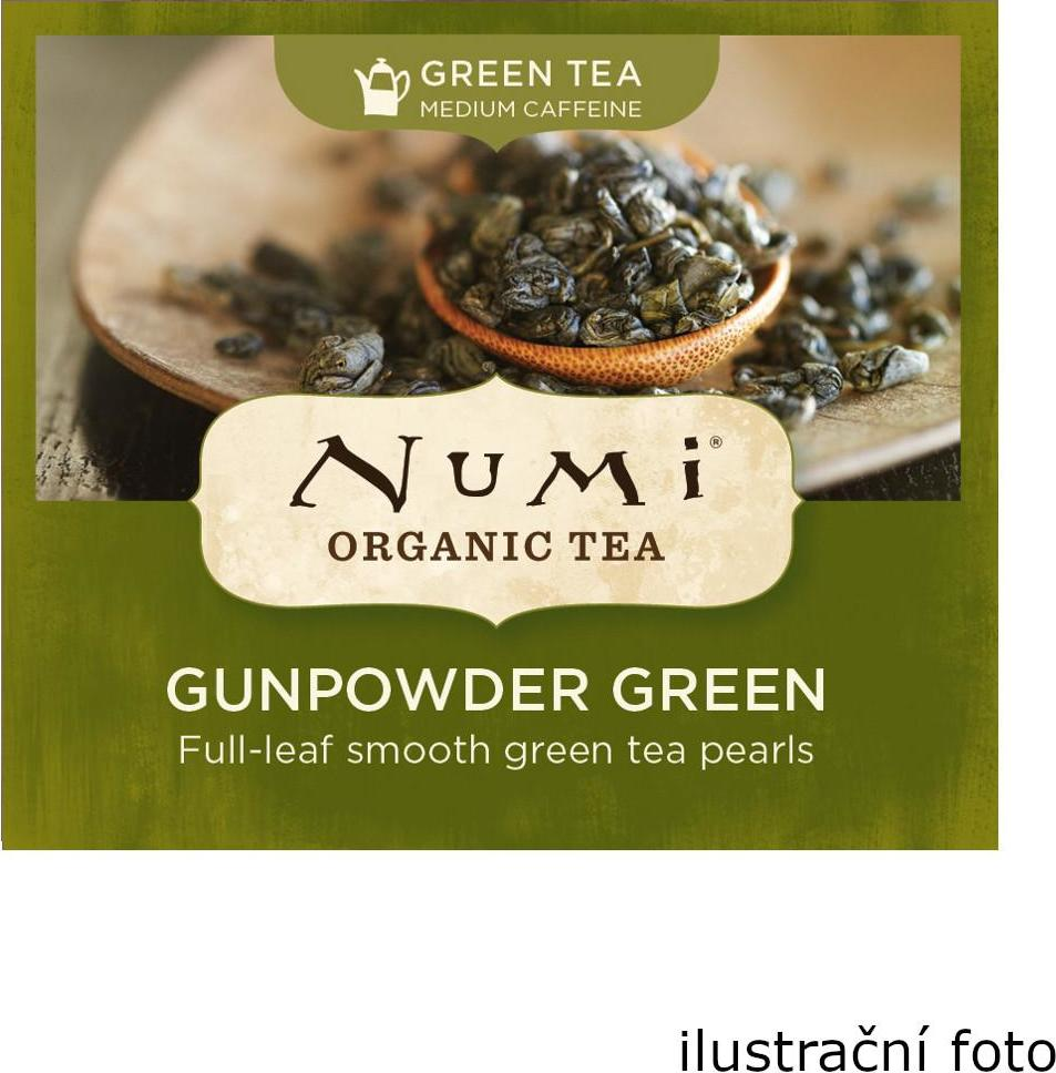 Numi Organic Tea Gunpowder Green zelený čaj 200 g 100 ks