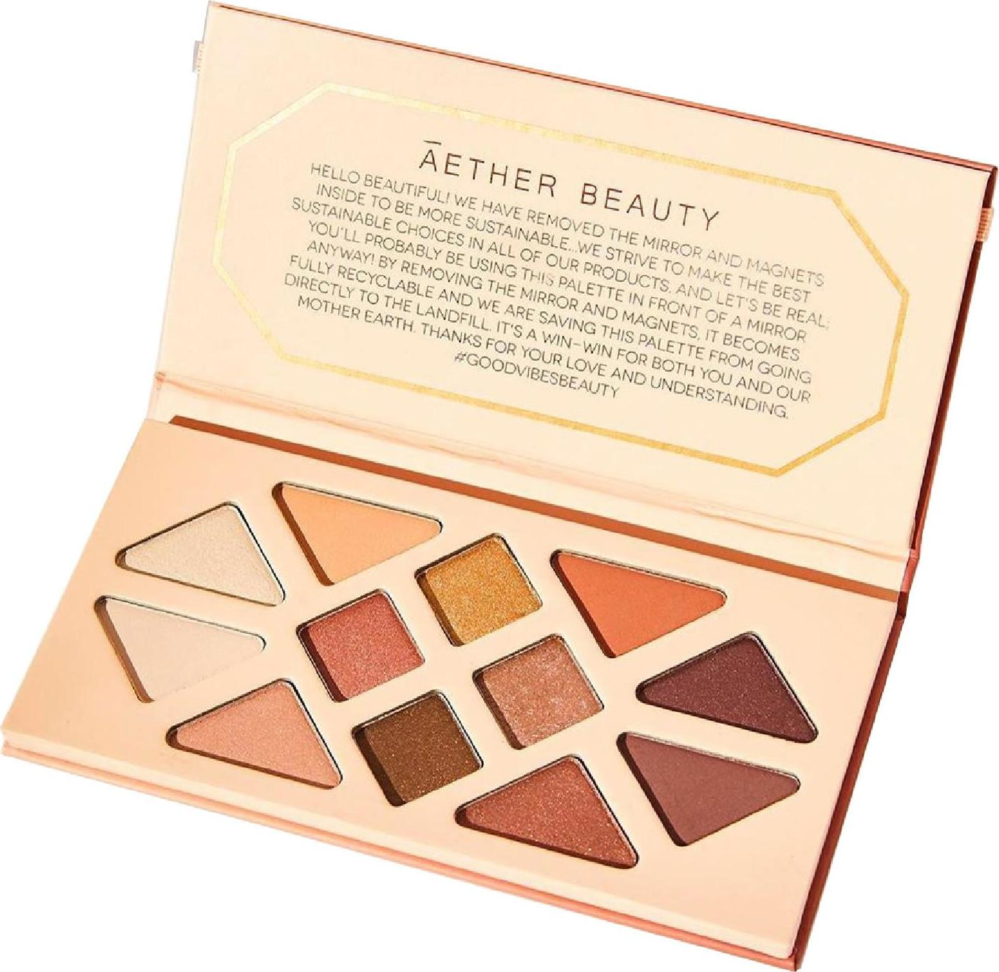 Aether Beauty Summer Solstice paleta očních stínů 1 ks