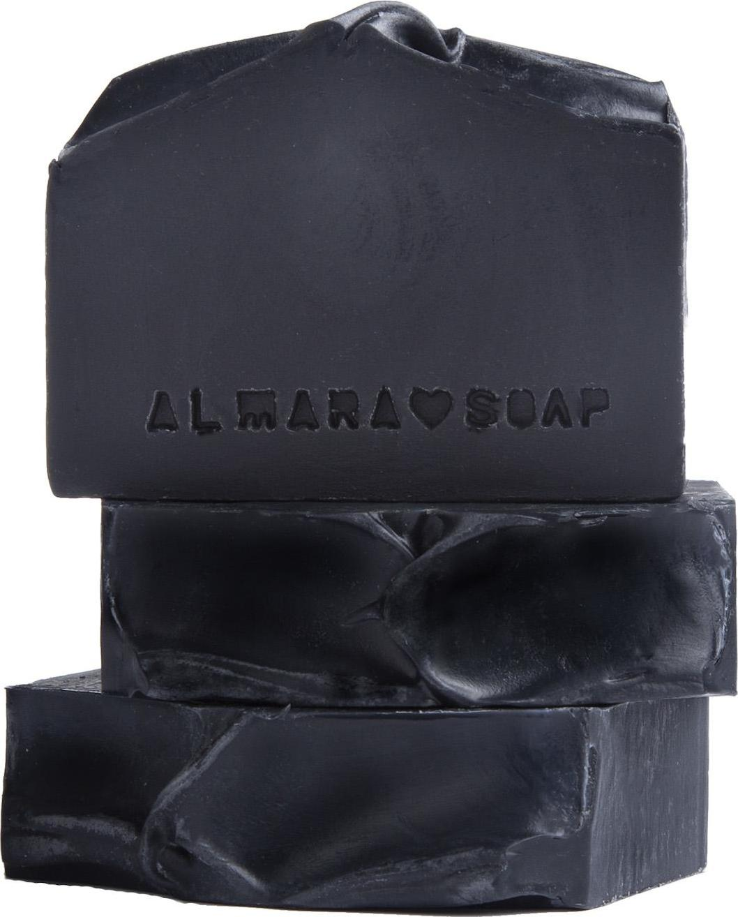 Almara Soap Mýdlo Black As My Soul 90 ± 5 g