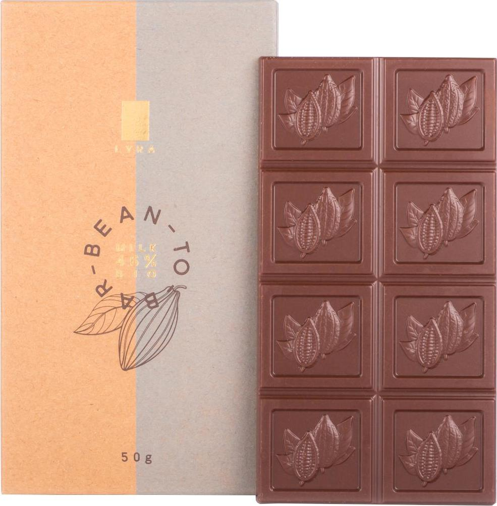 LYRA Bean to bar milk 46 50 g