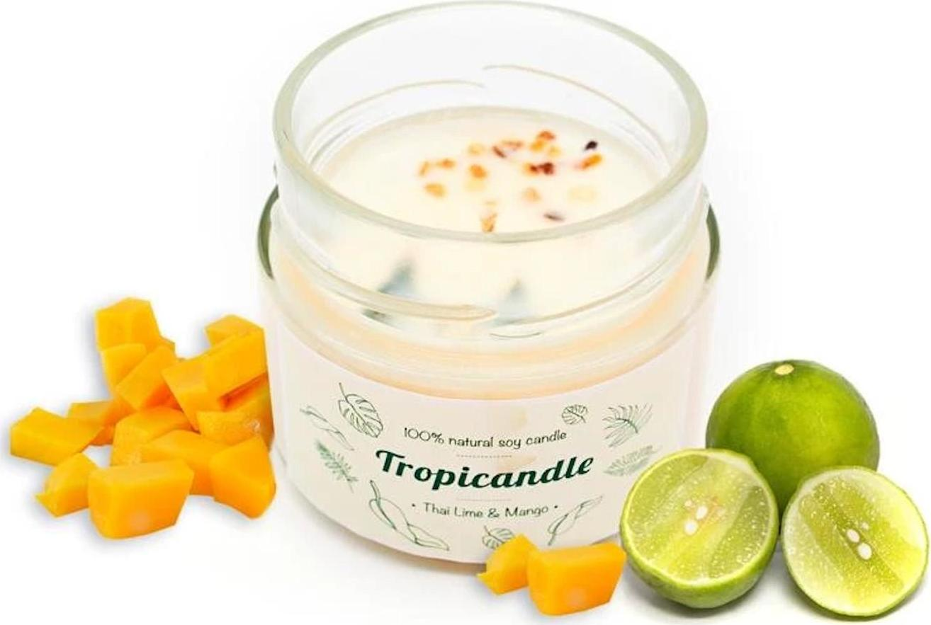 TROPIKALIA Tropicandle thai lime mango 150 ml