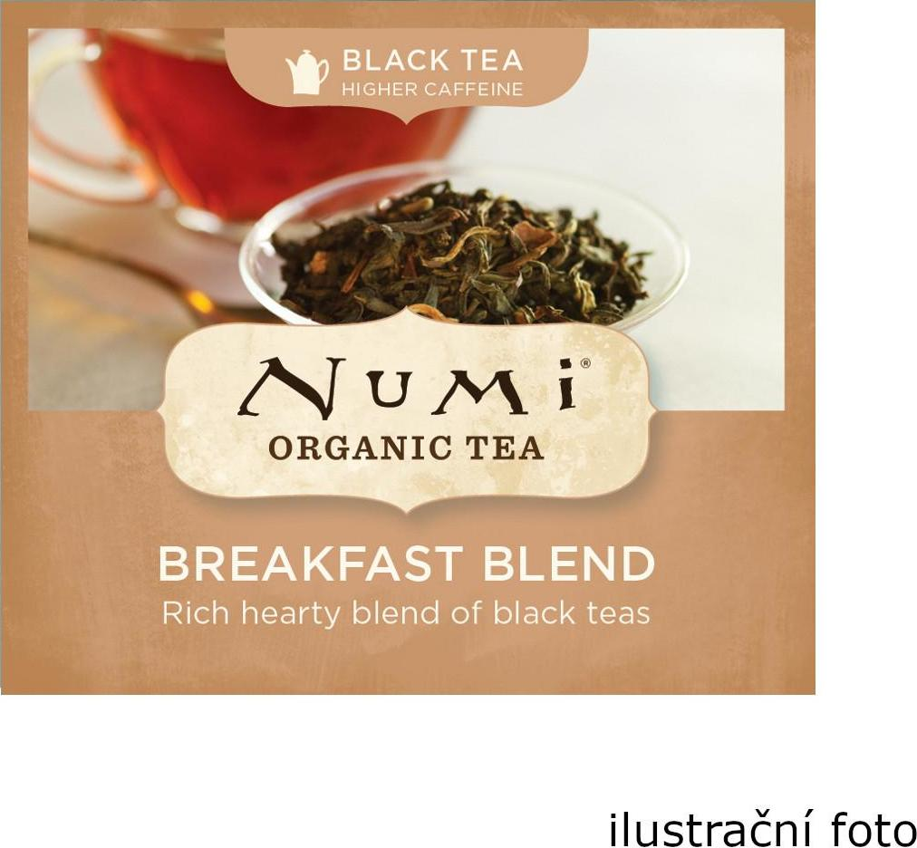 Numi Organic Tea Breakfast Blend černý čaj 220 g 100 ks