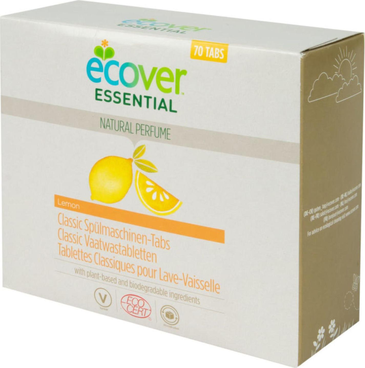 Ecover Essential Tablety do myčky Classic citron 70 ks