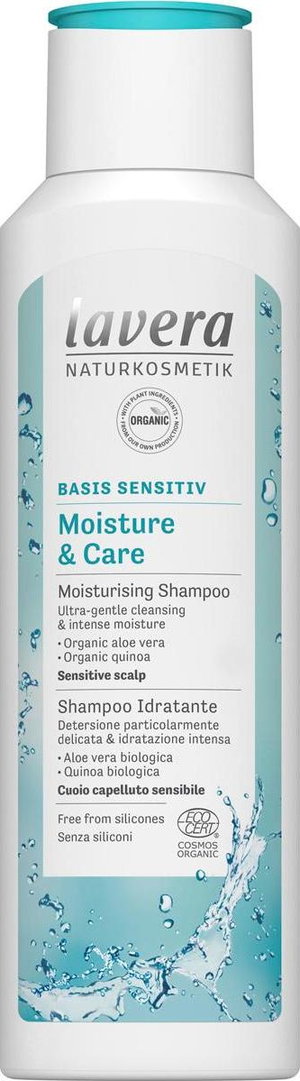 Lavera Šampon Moisture Care Basis sensitive 250 ml