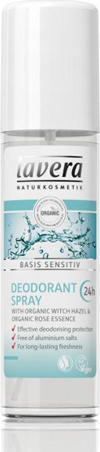 Lavera Deodorant sprej Basis Sensitiv 75 ml