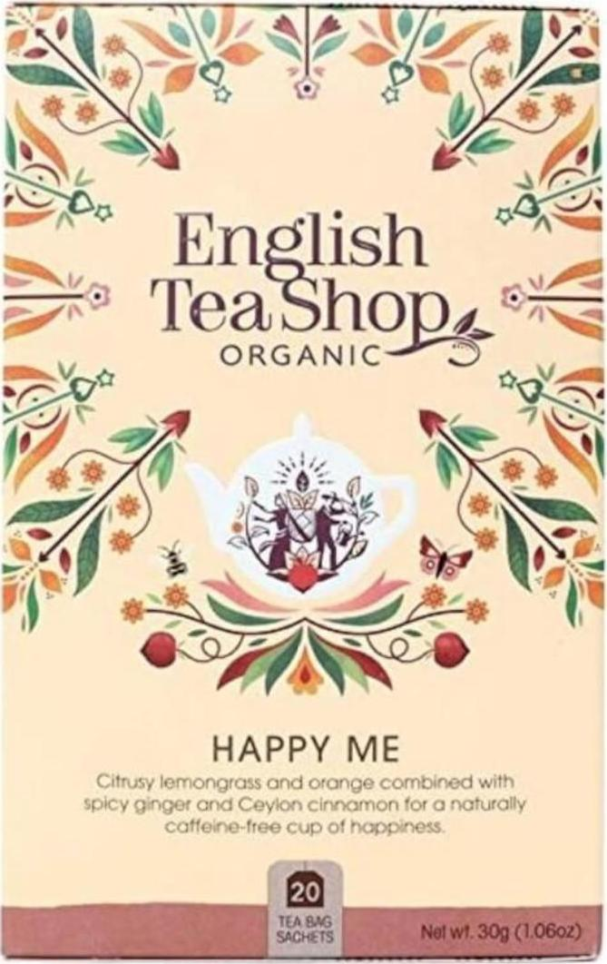 English Tea Shop Čaj Happy me bio 30 g 20 ks