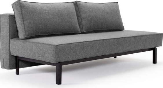 Šedá rozkládací pohovka Innovation Sly Sofa Bed Twist Charcoal