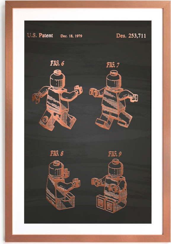 Zarámovaný plakát Really Nice Things Good Lego, 40 x 60 cm