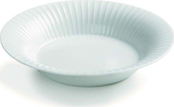 Bílý porcelánový polévkový talíř Kähler Design Hammershoi, ⌀ 21 cm Miss Sixty