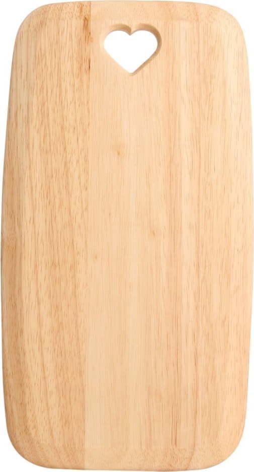 Prkénko z kaučukovníku T&G Woodware Colonial Hom, 35 x 19 cm