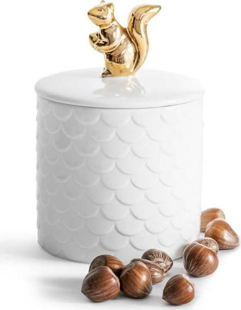 E-shop Porcelánová dóza s víkem Sagaform Squirrel
