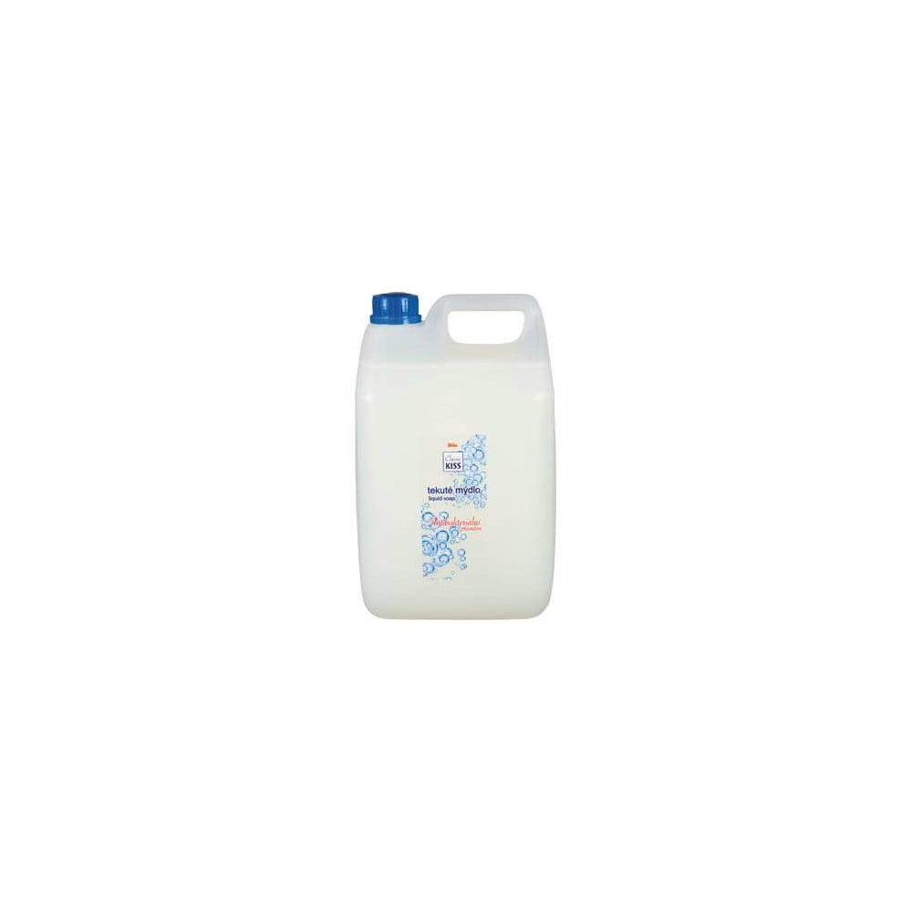 Antibakteriální tekuté mýdlo v rodinném balení Kiss Classic, 5 l