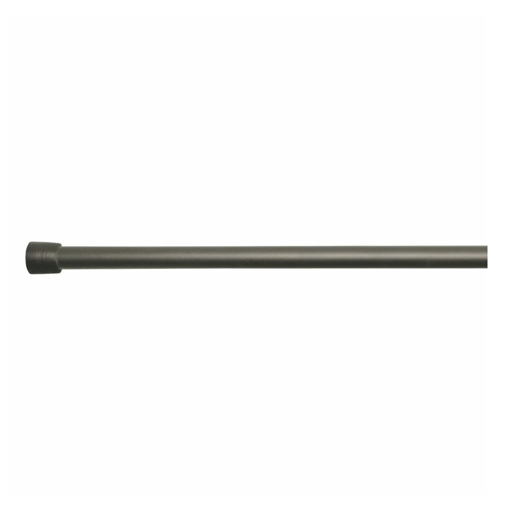 Bronzová tyč na sprchový závěs s nastavitelnou délkou InterDesign Rod, délka198 - 275 cm Miss Sixty