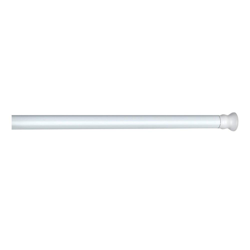 Bílá teleskopická tyč na sprchový závěs Wenko Shower Curtain Rod Miss Sixty
