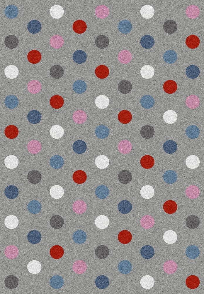 Šedý koberec Universal Norge Dots, 133 x 190 cm
