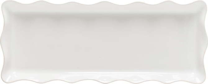 Bílý kameninový tác Casafina Cook & Host, 42 x 17 cm