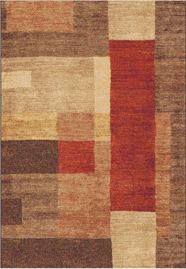 Hnědý koberec Universal Delta, 133 x 190 cm