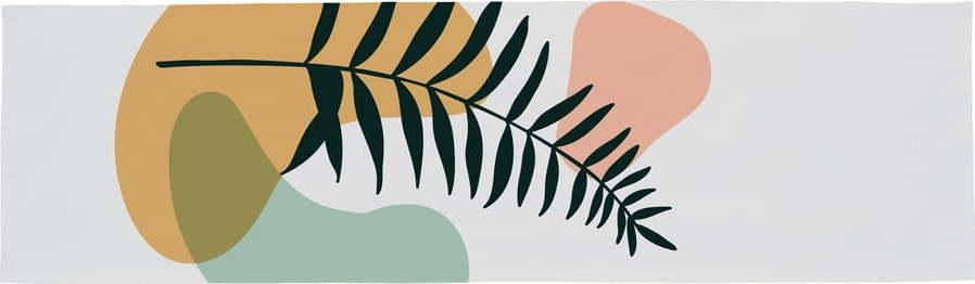 Bavlněný běhoun na stůl Butter Kings Botanical Art