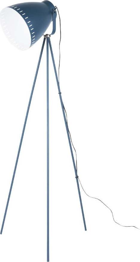 Tmavě modrá stojací lampa Laitmotiv Mingle
